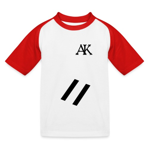 design tee - Kinderen baseball T-shirt