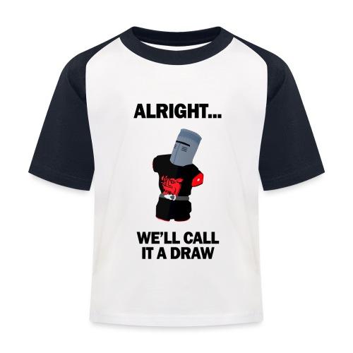 The Black Knight - Kids' Baseball T-Shirt