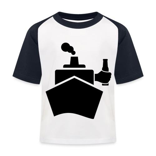 King of the boat - Kinder Baseball T-Shirt