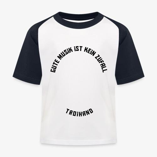Logo Troihand invertiert - Kinder Baseball T-Shirt