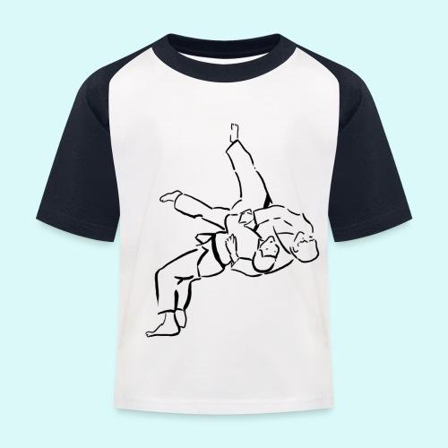 judo - T-shirt baseball Enfant