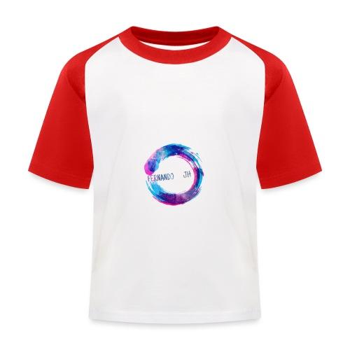 J h - Camiseta béisbol niño