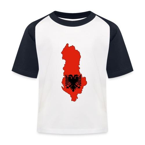 Albania - T-shirt baseball Enfant