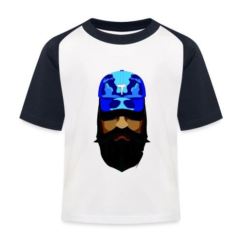 T-shirt gorra dadhat y boso estilo fresco - Camiseta béisbol niño
