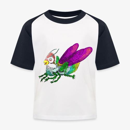 Chicken-Hopper - Kinderen baseball T-shirt