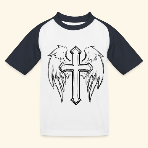 Faith and love - Kids' Baseball T-Shirt