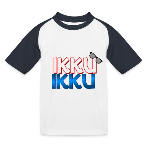 Ikku Ikku T-Shirt - Kinderen baseball T-shirt