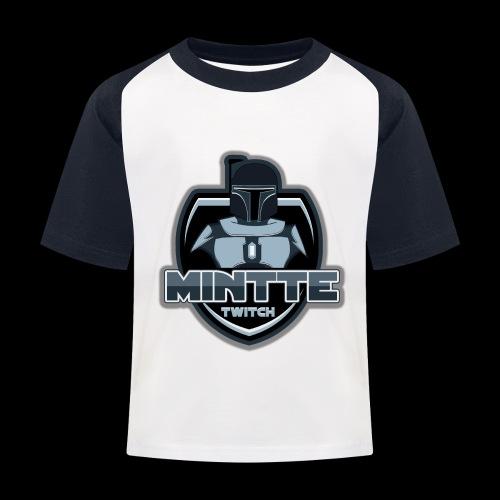 Mintte - Kinder Baseball T-Shirt