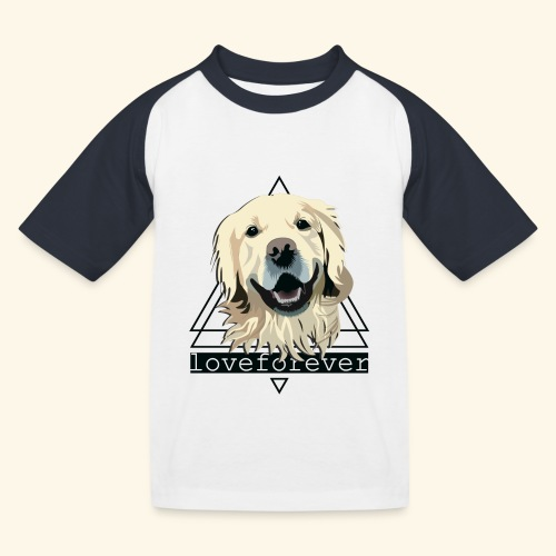 RETRIEVER LOVE FOREVER - Camiseta béisbol niño