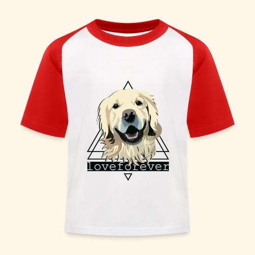 RETRIEVER LOVE FOREVER - Camiseta béisbol niño
