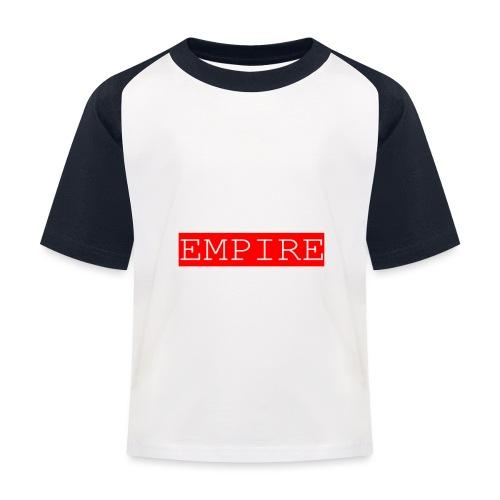 EMPIRE - Maglietta da baseball per bambini