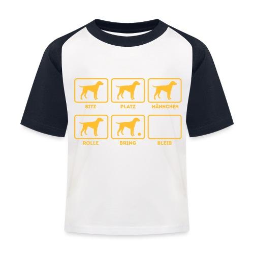 Für alle Hundebesitzer mit Humor - Kinder Baseball T-Shirt
