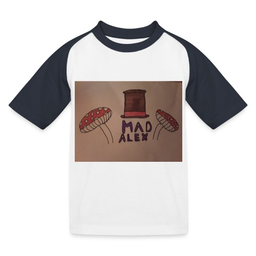 Mad Alex Logo - Kids' Baseball T-Shirt