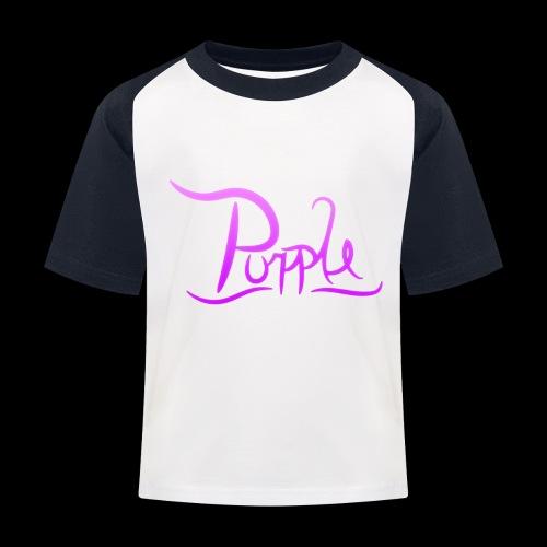 PurpleDesigns - Kids' Baseball T-Shirt
