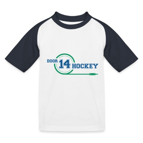D14 HOCKEY LOGO - Kids' Baseball T-Shirt