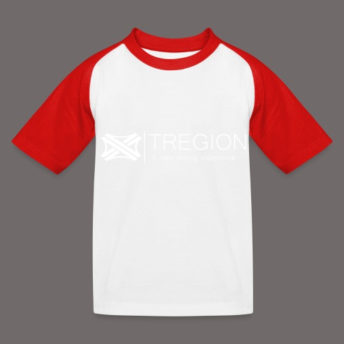 Tregion Logo wide - Kids' Baseball T-Shirt