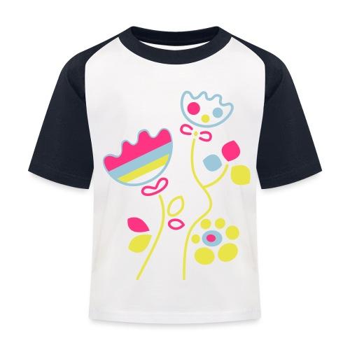 tulipani - Maglietta da baseball per bambini