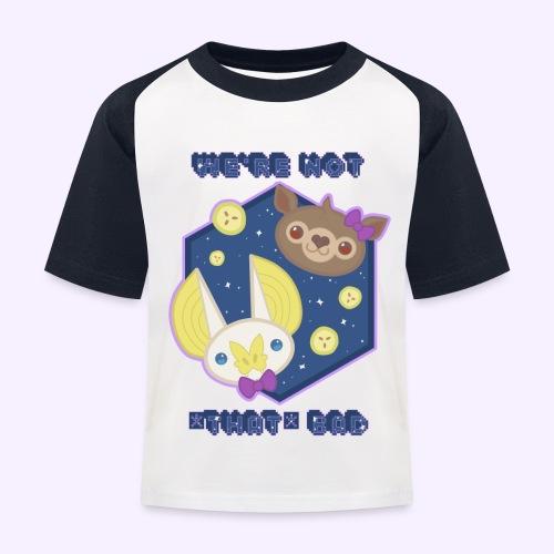Night Doggos - Maglietta da baseball per bambini