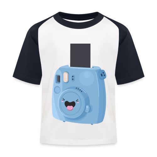 Appareil photo instantané bleu - T-shirt baseball Enfant