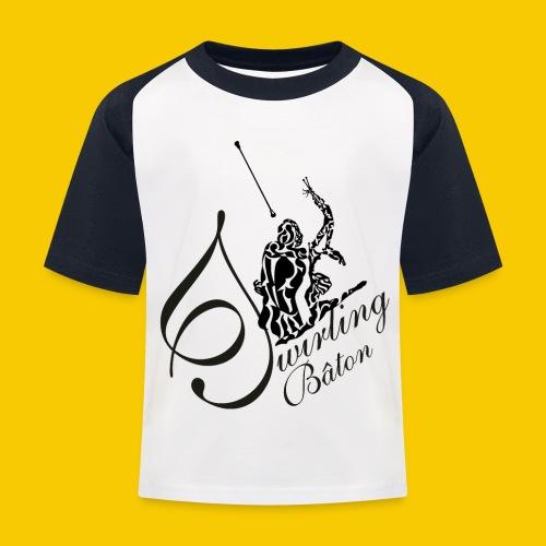 twirling b 2 - T-shirt baseball Enfant