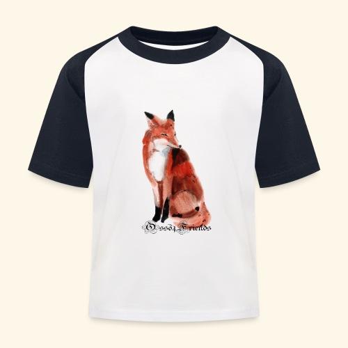 FOX - Maglietta da baseball per bambini
