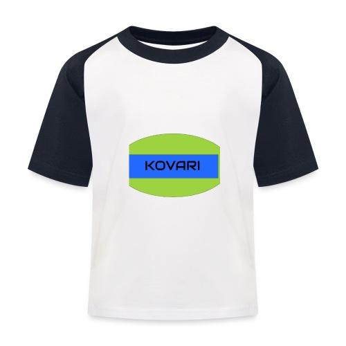 Kovari Logo - Lasten pesäpallo  -t-paita