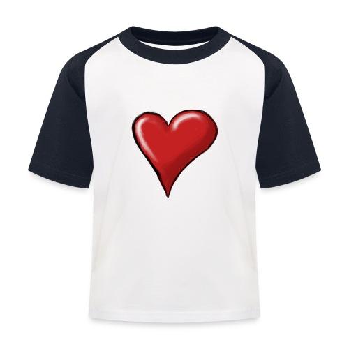 Love (coeur) - T-shirt baseball Enfant
