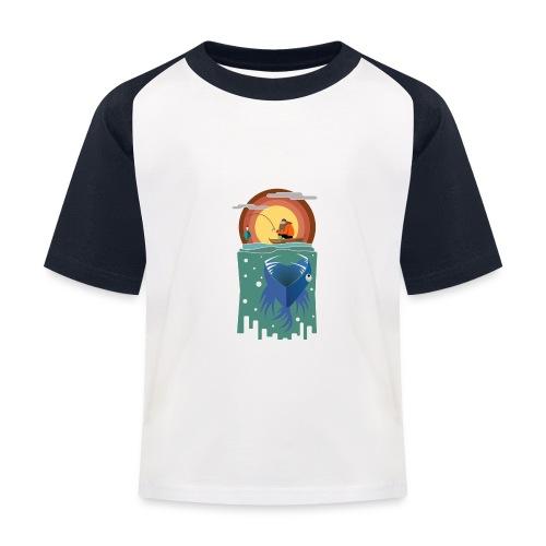Food chain - T-shirt baseball Enfant