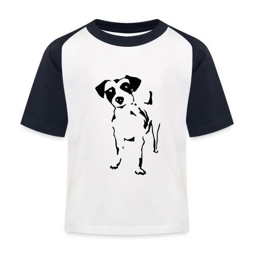 Jack Russell Terrier - Kinder Baseball T-Shirt