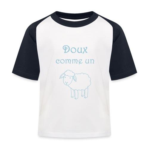 doux-comme-un-agneau-2 - T-shirt baseball Enfant