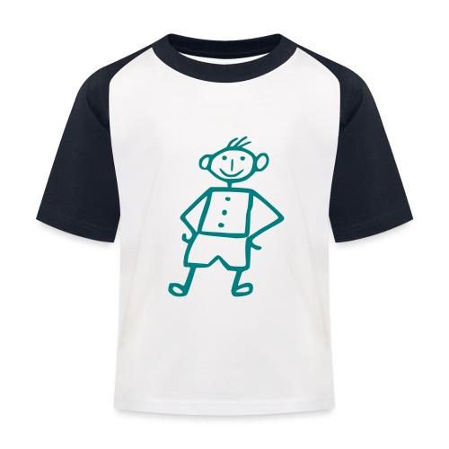 me-white - Kinder Baseball T-Shirt