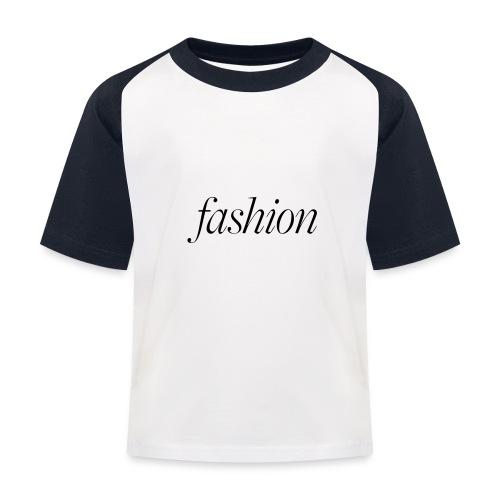 fashion - Kinderen baseball T-shirt