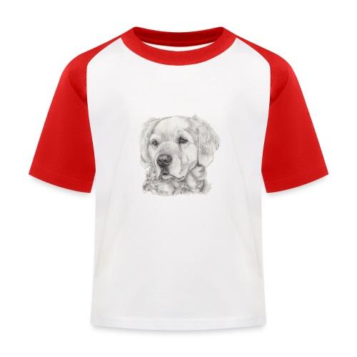 golden retriever - Baseball T-shirt til børn