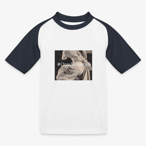 #OrgulloBarroco Proserpina - Camiseta béisbol niño