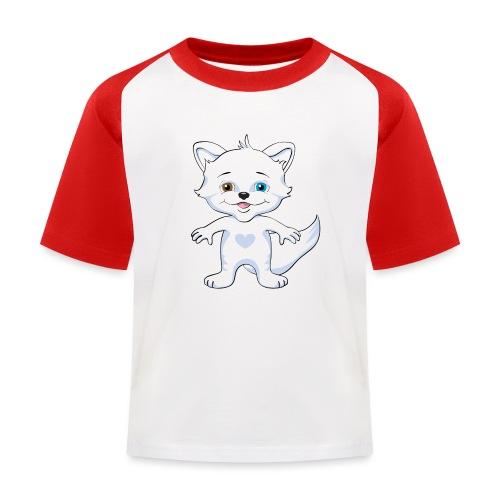 Rävlycka - Baseboll-T-shirt barn