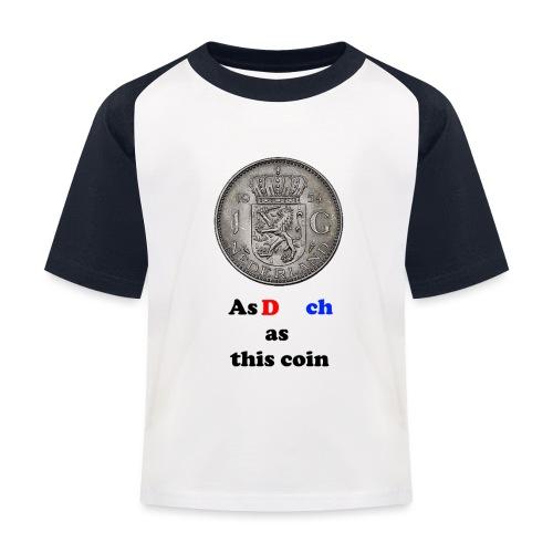 Hollandse Gulden - Kinderen baseball T-shirt
