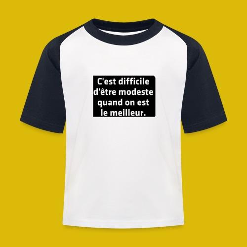 PAR FEE - T-shirt baseball Enfant