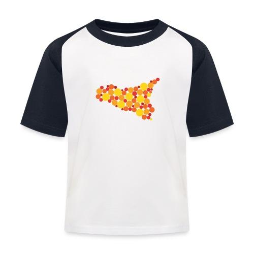 logo sicilia piccolo - Maglietta da baseball per bambini