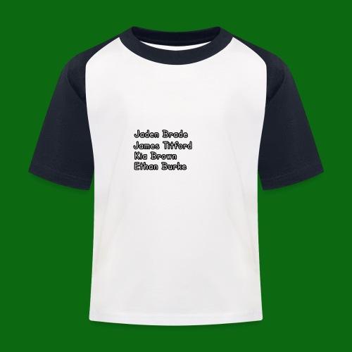 Glog names - Kids' Baseball T-Shirt