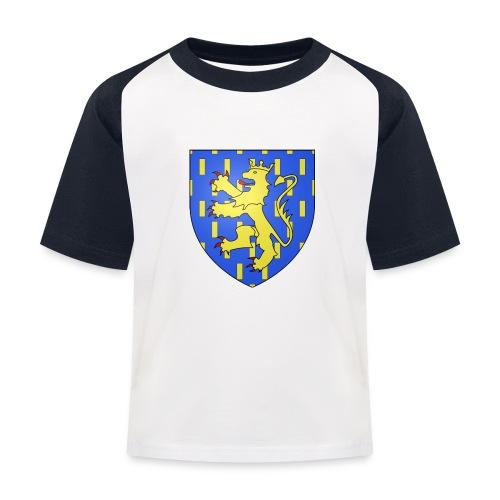Blason de la Franche-Comté avec fond transparent - T-shirt baseball Enfant