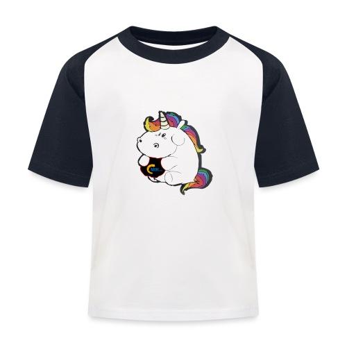 MIK Einhorn - Kinder Baseball T-Shirt