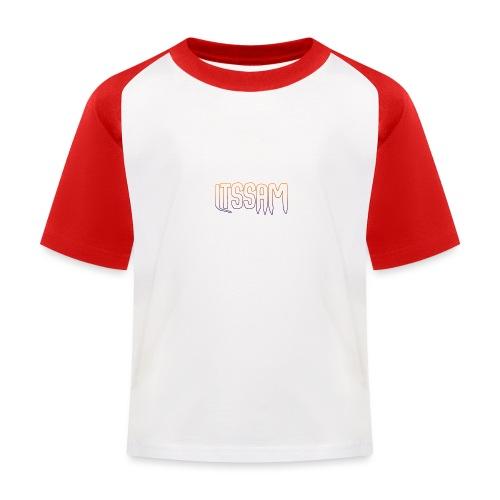 ItsSam Original Logo - Kids' Baseball T-Shirt