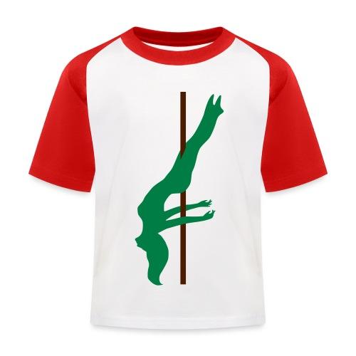 Pole Dance Pole Dancing - Maglietta da baseball per bambini