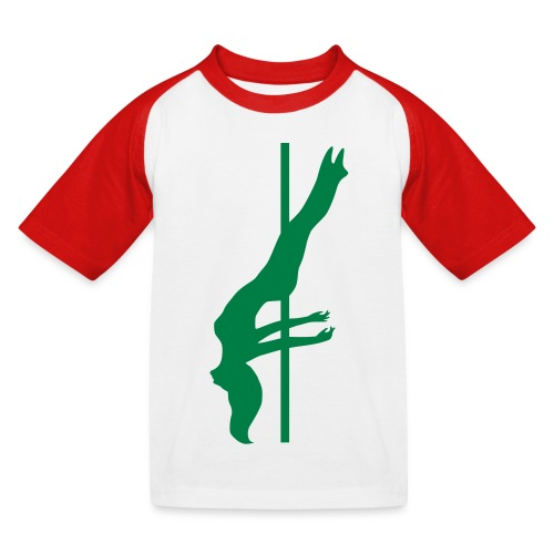 Pole Dance - Maglietta da baseball per bambini