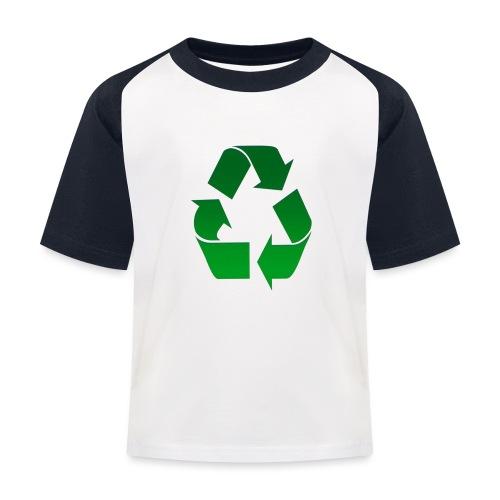 Recyclage - T-shirt baseball Enfant