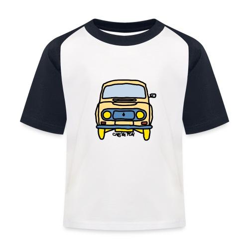 Voiture ancienne mythique française - T-shirt baseball Enfant