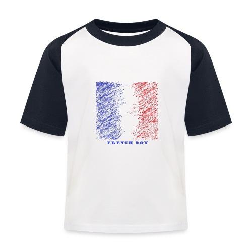 french - T-shirt baseball Enfant
