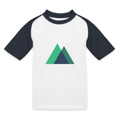 Mountain Logo - Kids' Baseball T-Shirt