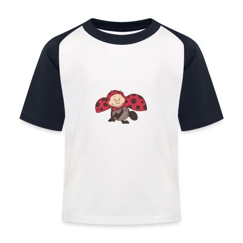 Marienkäfer - Kinder Baseball T-Shirt