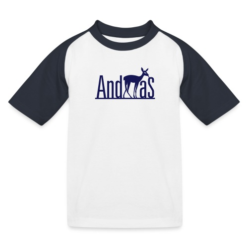 AndREHas - Kinder Baseball T-Shirt